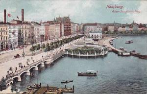 Boats, Alter Jungfernstieg, Hamburg, Germany, PU-1909