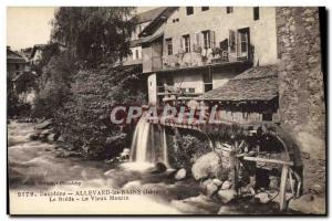 Postcard Old water mill Dauphine Allevard les Bains The Breda The old mill