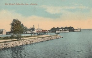 BELLEVILLE , Ontario, 1900-10s ; The Wharf