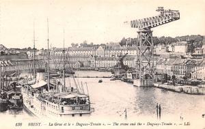 Brest France La Grue et le Duguay Trouin Brest La Grue et le Duguay Trouin