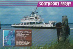 North Carolina Kure Beach Southport Ferry