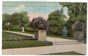Chicago, South Entrance to Garfield Park from Maison St.