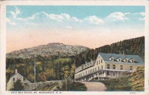 New Hampshire Mt Monadnock Half-Way House 1927 Curteich