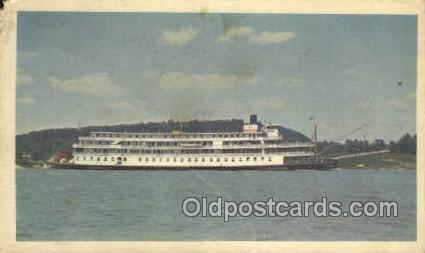 Delta Queen - Non Postcard Backing Ferry Boats, Ship, Ships, Postcard Post Ca...