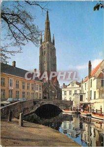 Modern Postcard the church Brugge N D
