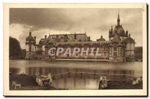 Old Postcard Chateau de Chantilly Castles Petit Chateau and Tour du Tresor