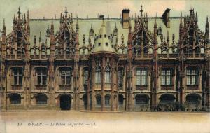France Rouen Le Palais de Justice 01.82