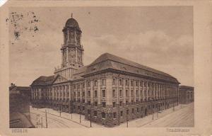 Germany Berlin Stadthaus 1920