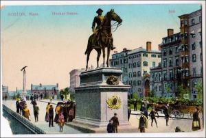 Hooker Statue, Boston MA