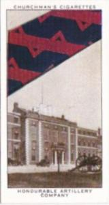 Church Vintage Cigarette Card Well Known Ties No 10 Honourable Artillery Company