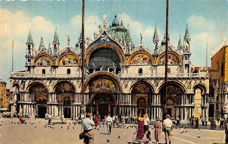 Italy Venezia, The Basilica of St Mark, Basilica di S Marco