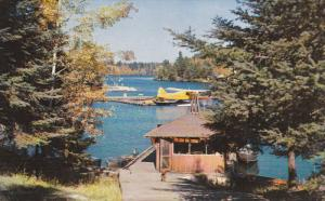 Seaplane, Lake, SIOUX NARROWS, Ontario, Canada, 40-60's
