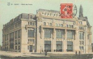 Postcard France Dijon hotel des postes