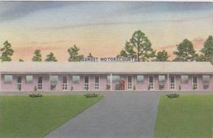 North Carolina Raleigh Sunset Motor Court