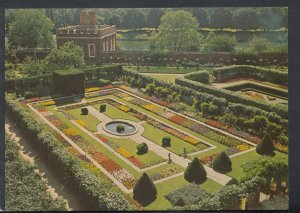Middlesex Postcard - Hampton Court Palace - The Pond Garden   T4483