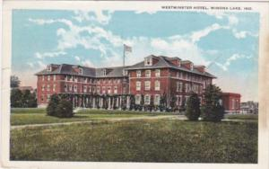 Indiana Winona Lake Westminster Hotel 1922 Curteich