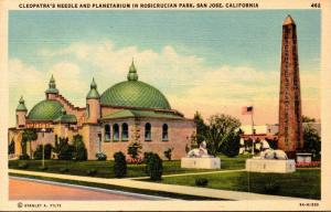 California San Jose Rosicrucian Park Cleopatra's Needle and Planetarium ...