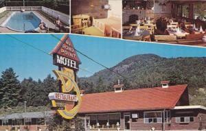 3-views,  Au Rond Point Motel-Restaurant,  Magog,  Quebec,  Canada,  PU_40-60s