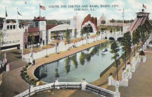 CHICAGO, Illinois, 00-10s ; White City , Chute the Chutes & Basin