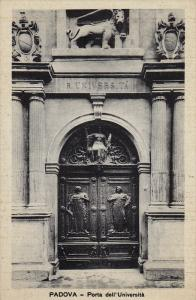 PADOVA, Porta dell´Universita, Veneto, Italy, 10-20s