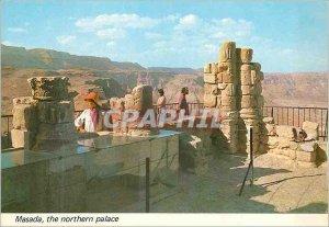 Modern Postcard Masada the northern palace