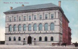 Free Public Library Newark New Jersey 1913
