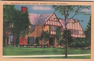California Beverly Hills Residence Of Eddie Cantor