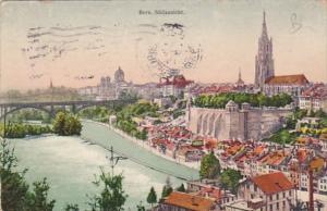Switzerland Bern Suedansicht 1919