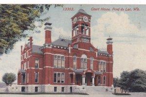 FOND DU LAC, Wisconsin, 1900-1910's; Court House
