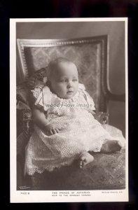 r4035 - The Prince of Asturias, Heir to the Spanish Throne, No.7102 B - postcard