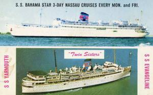 Eastern Shipping Corp. - SS Yarmouth, SS Evangeline and SS Bahama Star