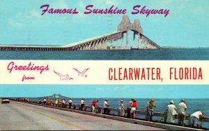 Florida Clearwater Greetings 1966