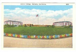 Junior College, Modesto, California 1900-1910s