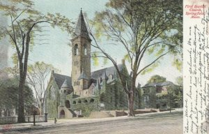 SPRINGFIELD , Massachusetts, 1907 ; First Baptist church