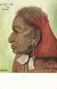dutch new guinea, Ethnic Types, Anasei-Iga Borem Gajam Papua (1920s) Mission