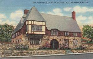HENDERSON , Kentucky , 30-40s; Tea Room, Audibon Memorial State Park
