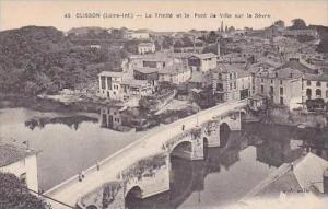 France Clisson La Trinite et le Pont de Ville sur la Sevre