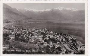 Switzerland Locarno Veduta verso Muralto e Minusio Photo