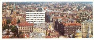 Postcard Riga Latvia Public service house