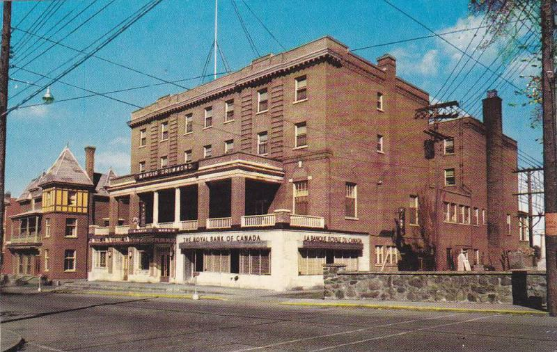 Manoir Dummond, Drummondville, Quebec,  Canada, 40-60s