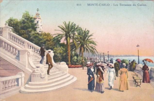 Monaco Monte Carlo Les Terrasses du Casino