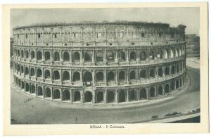 Italy, Roma, Rome, Il Colosseo, unused Postcard