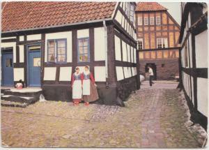 EBELTOFT, Gard ved Torvet, 1974 used Postcard
