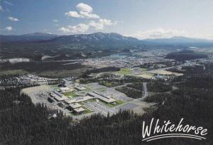 Yukon College and Arts Center, Yukon River, Downtown Whitehorse, Yukon, Canad...