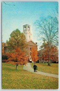 Marietta College OH~Muskingum Academy~3:20 on Clock & Belltower~Erwin Hall~1950s