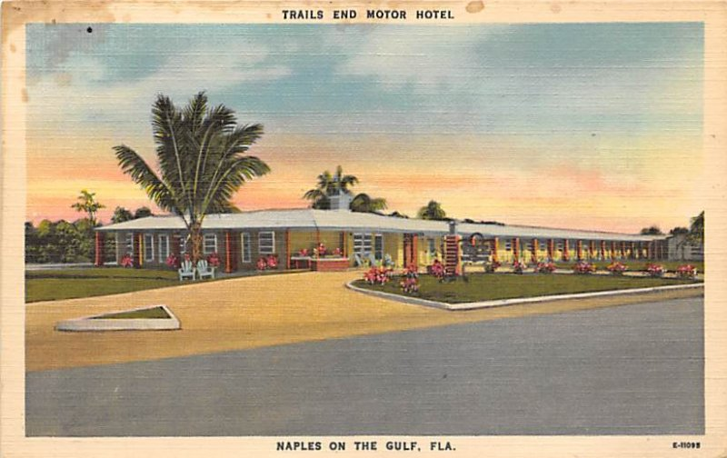 Trails End Motor Hotel Naples on the Gulf Naples FL