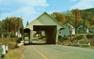 VT - Lyndon. South Wheelock Road Covered Bridge