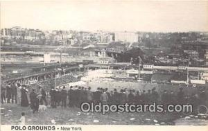 Baseball Stadium Postcard New York, USA Polo Grounds, Printed 1974