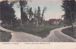 New Hampshire Hillsboro Junction Of The Roads