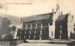India Church of England Rawal Pindi Postcard